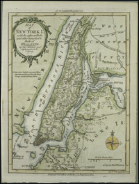 Map Of New York 1850.American Shores Maps Of The Middle Atlantic Region To 1850