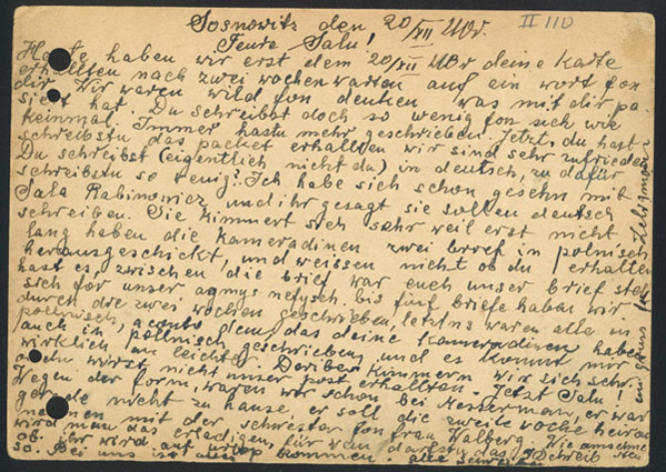 NYPL, Letters To Sala